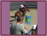 Malenice - barrel racing