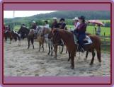 Nástup před horsemanshipem
